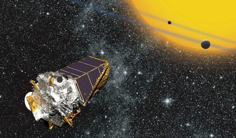 Kosmiczny Teleskop Keplera. Rys. NASA