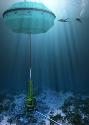 Element systemu CETO 5. Fot. Carnegie Wave Energy Limited