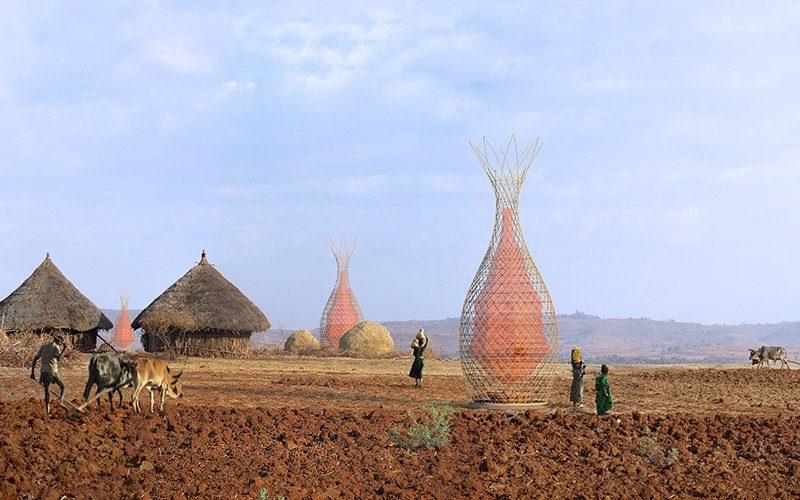 Wieża WarkaWater w Etiopii Fot. WarkaWater