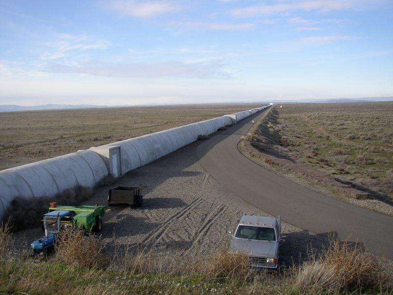 Jedna z odnóg LIGO. Fot. Umptanum|Wikimedia