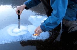 Jak zaparzyć kawę za pomocą skutego lodem jeziora?