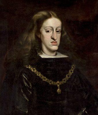 Karol II Habsburg. Obraz pędzla Juana Carreño de Miranda. Fot. Wikimedia