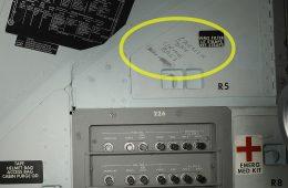 Odkryto nieznane napisy wewnątrz modułu dowodzenia Apollo 11