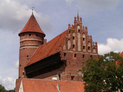 Zamek Kapituły Warmińskiej w Olsztynie. Fot. Wikimedia