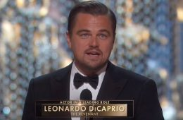 Leonardo DiCaprio zdobywa Oscara i mocno mówi o globalnym ociepleniu