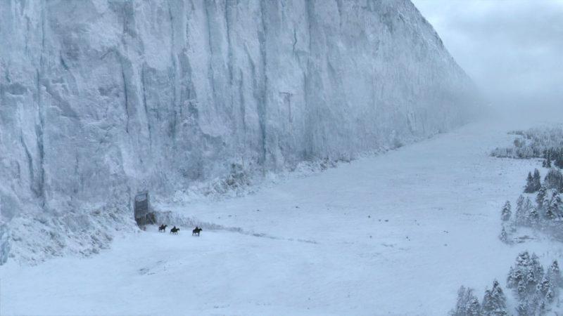 """Mur w """"Grze o Tron"""". Źródło: http://gameofthrones.wikia.com/"""