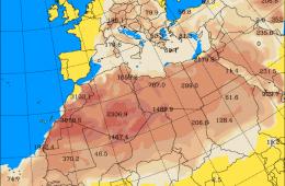 Pył znad Sahary nad Polską