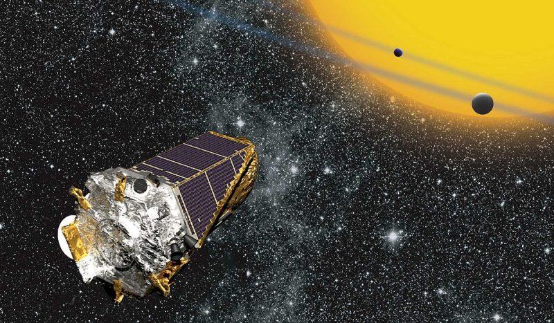 Kosmiczny Teleskop Keplera. Źródło: NASA Ames/ W Stenzel