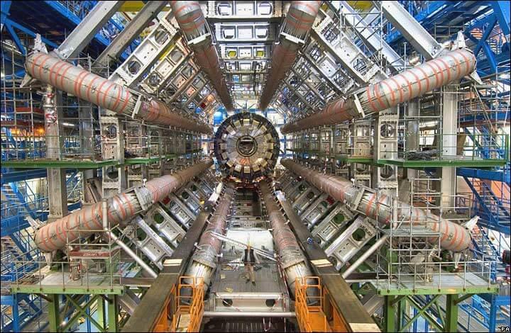 LHC/akcelerator ATLAS. Fot. CERN