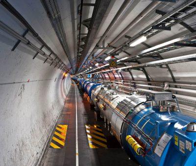 Tunel LHC. Fot. Maximilien Brice, CERN