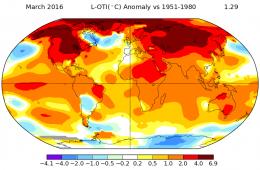Rok 2016 najgorętszy w historii pomiarów – w klimacie Ziemi coś się załamało