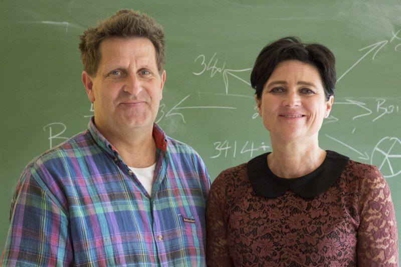 Autorzy badania - Audrey van der Meer i Ruud van der Weel