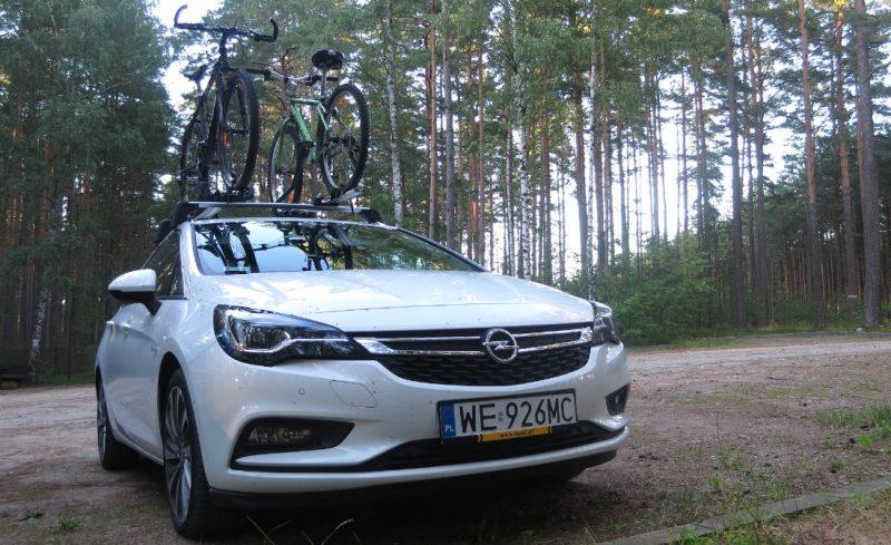 Nowa Astra ST z naszymi rowerami na dachu przejechała ponad 1200 km. Fot. Crazy Nauka