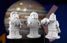 Jak figurki Lego dotarły na orbitę Jowisza