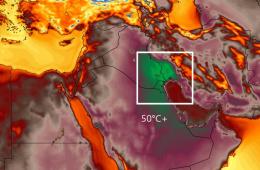 Wczoraj padł rekord gorąca na półkuli wschodniej