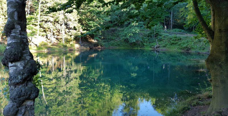 Niebieskie Jeziorko. Fot. Crazy Nauka