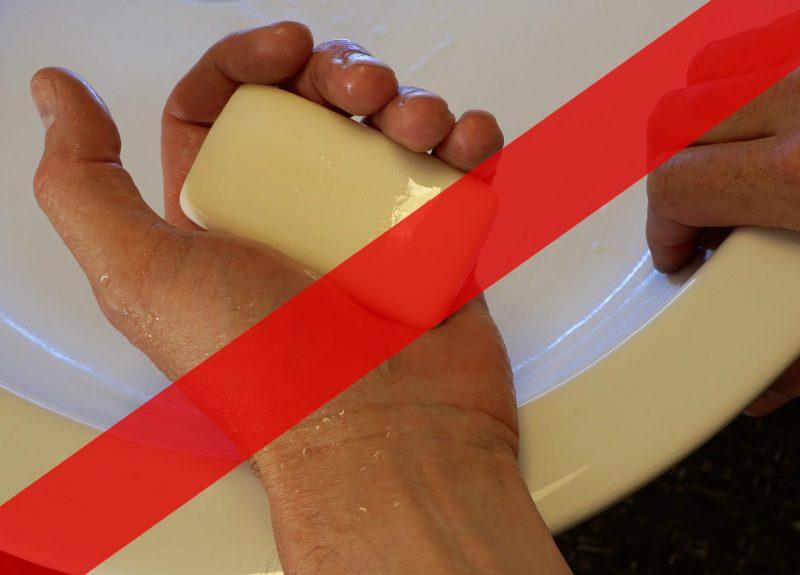 Bakteriobójcze mydła zostały zakazane w USA