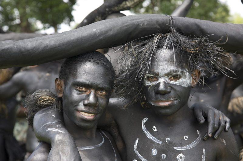 Mieszkańcy Papui Nowej Gwinei. Fot. Anselmo Lastra