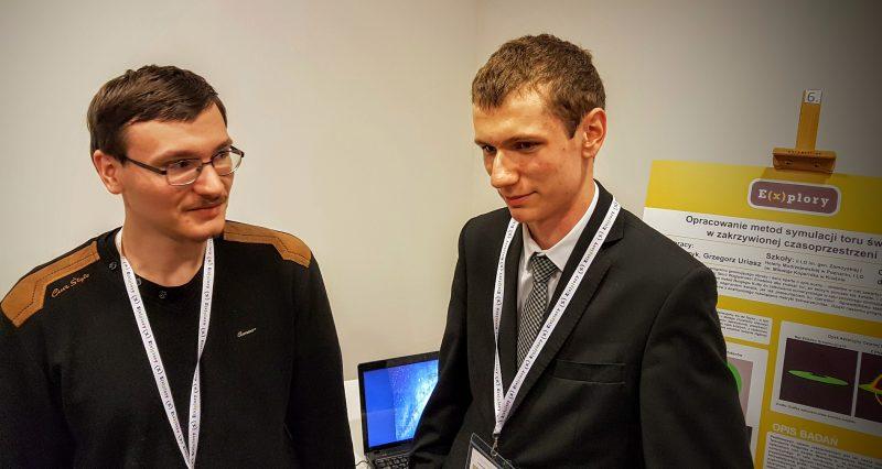 Jakub Szewczyk i Grzegorz Uriasz Fot. Crazy Nauka