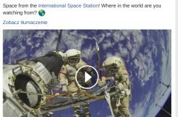 """Też widzieliście te """"transmisje na żywo"""" z Międzynarodowej Stacji Kosmicznej? To oszustwo"""