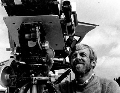 Geolog Dave Johnston na stoku Mount St. Helens 4 kwietnia 1980 roku. Fot. USGS