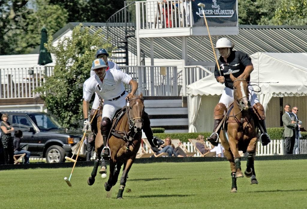 Adolpho Cambiaso w trakcie rozgrywki polo (fot. Billpolo/CC BY - SA 3.0)