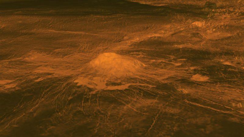 Idunn Mons na Wenus. Fot. NASA