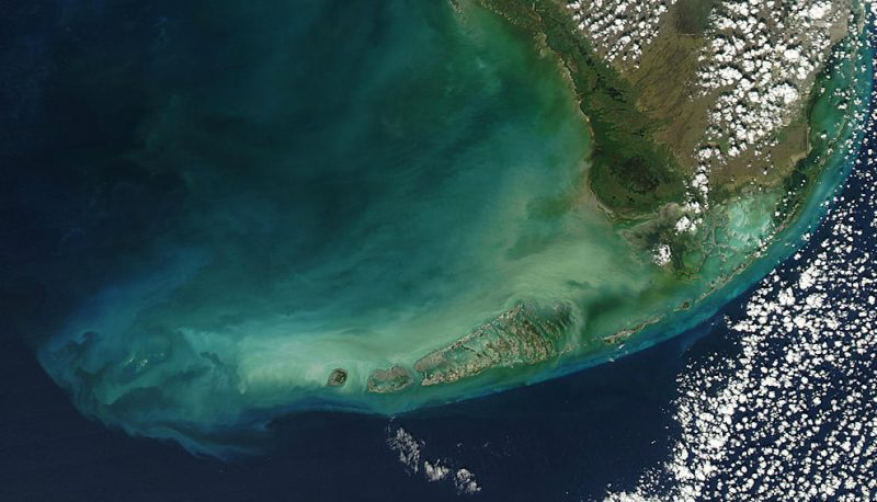 Florida Keys. Fot. NASA
