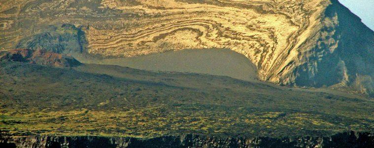 Wyspa Surtsey w 2007 roku. Fot. michael clarke stuff