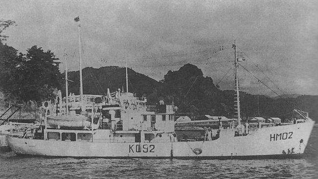 Kaiyō Maru 5 na dwa lata przed tragedią