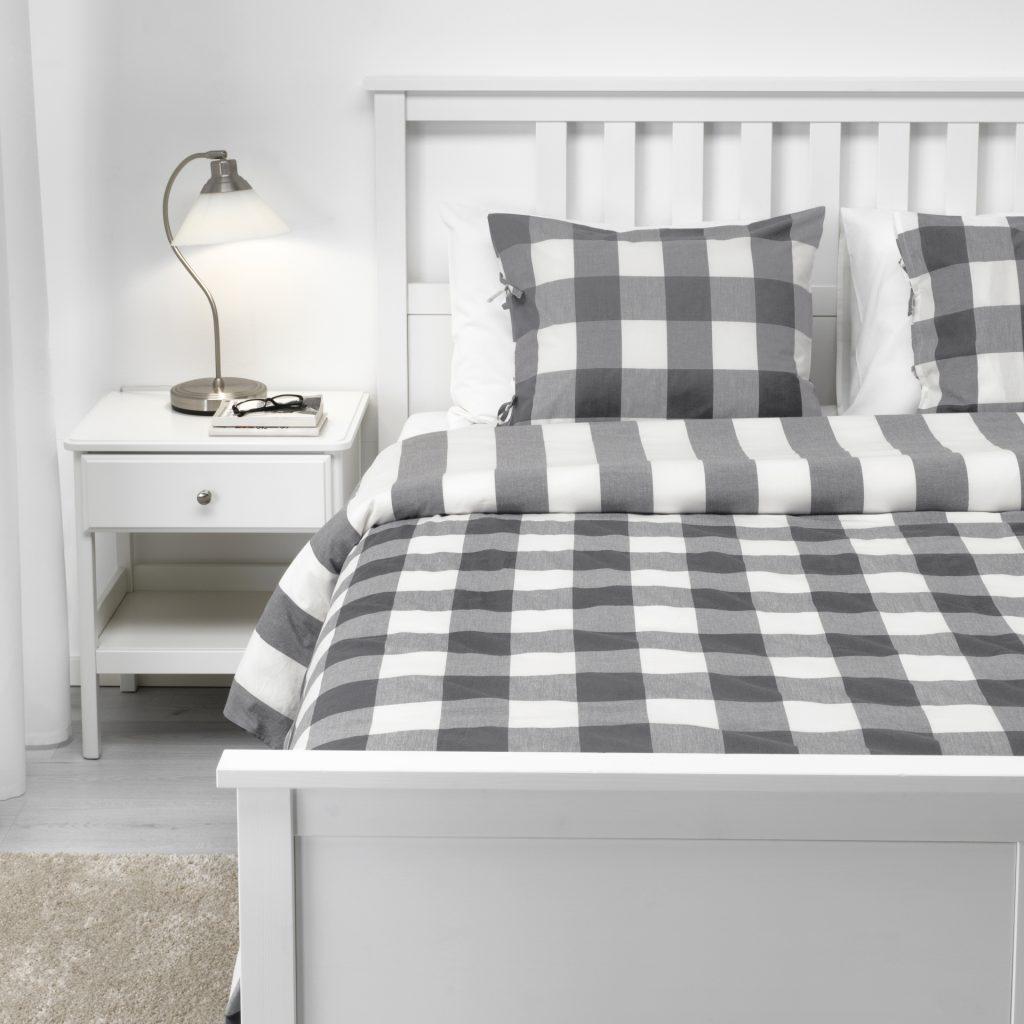 Kolory i oświetlenie mają wpływ na jakość snu. Fot. IKEA