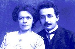 Czy żona Einsteina jest współautorką teorii względności?