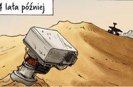 Marsjański łazik Opportunity działa od 13 lat – zobaczcie komiks, jakim uczcili go Polacy!