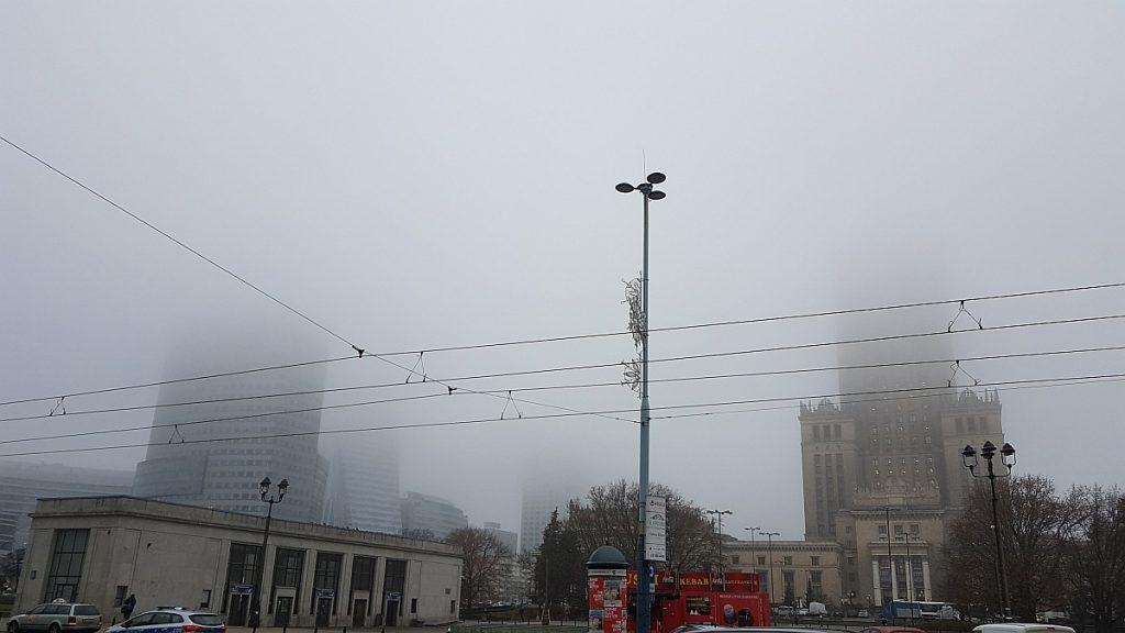 Smog w Warszawie. Fot. Crazy Nauka