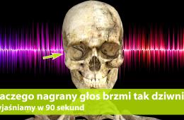 Dlaczego mój głos brzmi inaczej z nagrania? Wyjaśniamy w 90 sekund