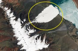 Górskie lodowce w różnych punktach Ziemi osuwają się w doliny. Wystarczy kilka minut…