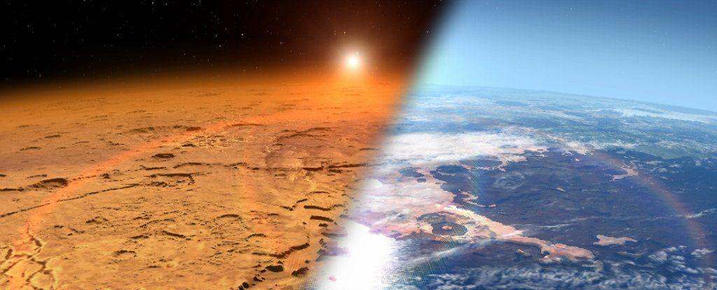 Mars ma szansę stać się przyjazną życiu planetą. Rys. NASA Goddard Space Flight Centre