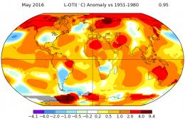 Skoro mamy tak zimną wiosnę, to znaczy, że jest globalne ochłodzenie?