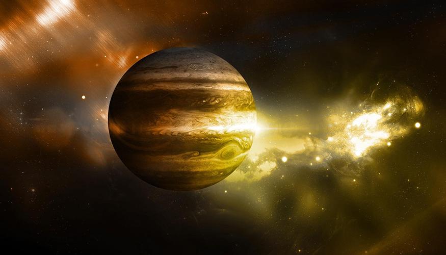 Jowisz okazuje się być najstarszą z planet Układu Słonecznego. Rys. NASA