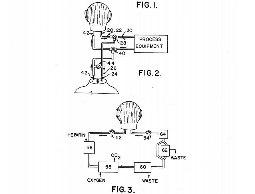 Rysunki z wniosku patentowego Cheta Fleminga