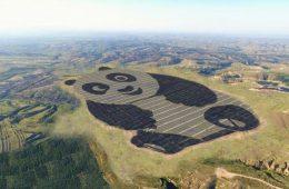 Czy w Chinach naprawdę zbudowano elektrownię słoneczną w kształcie gigantycznej pandy?