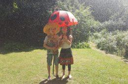 Do czego pierwotnie służył parasol i co ma wspólnego z czosnkiem