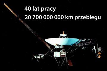 40 lat Voyagera Fot. NASA