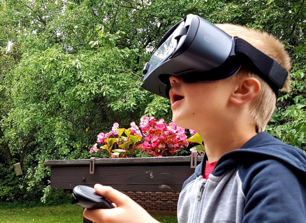 Nasz syn w kontakcie z wirtualną rzeczywistością