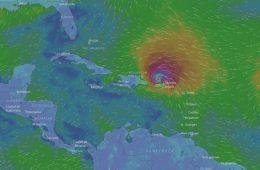 Trzy huragany naraz nad Atlantykiem, w tym najsilniejszy w historii