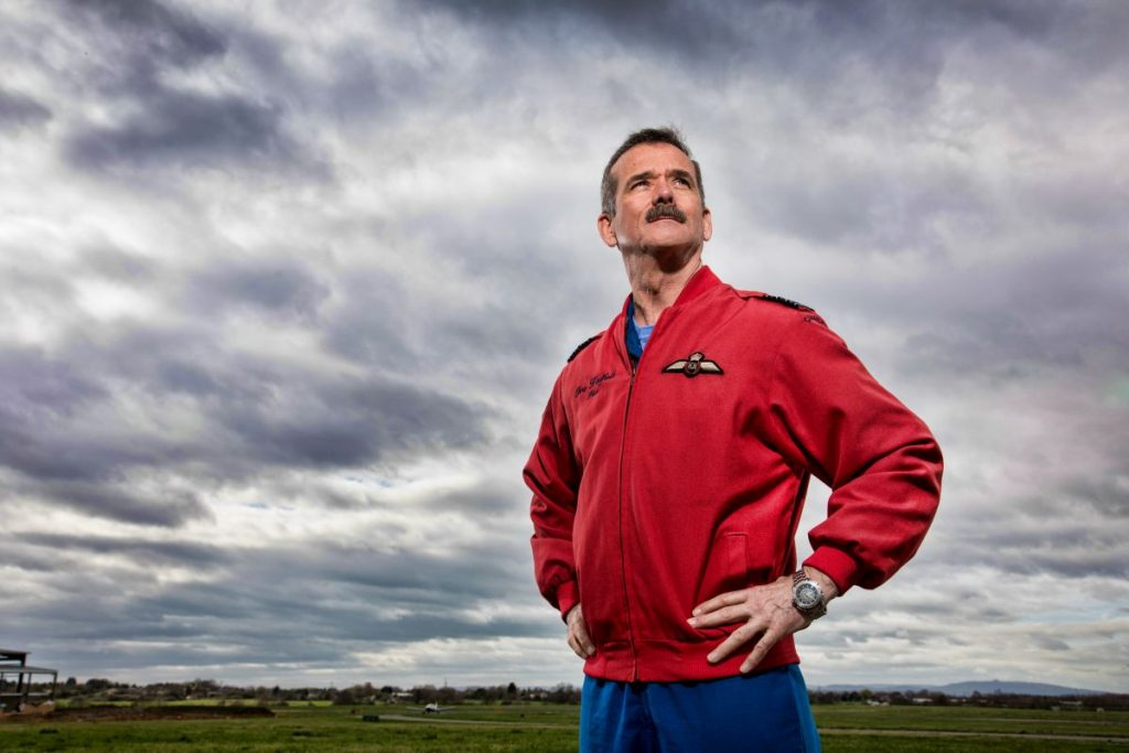 Chris Hadfield Fot. BBC