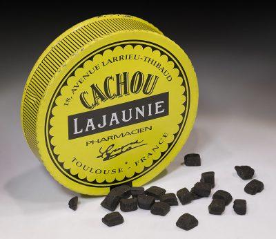 Francuskie cukierki lukrecjowe Cachou Lajaunie Fot. Didier Descouens