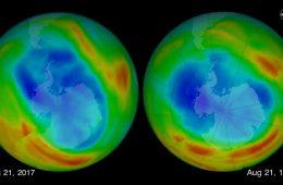 Dziura ozonowa najmniejsza od 1988 roku