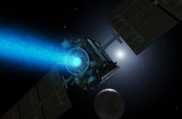 Nowy silnik jonowy NASA – świeci, popycha i bije rekordy