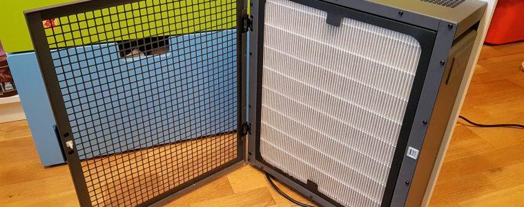 Oczyszczacz Blueair 280i z otwartą osłoną filtra